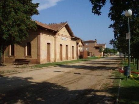 Antiga estació de tren de Llagostera, oficina turismo