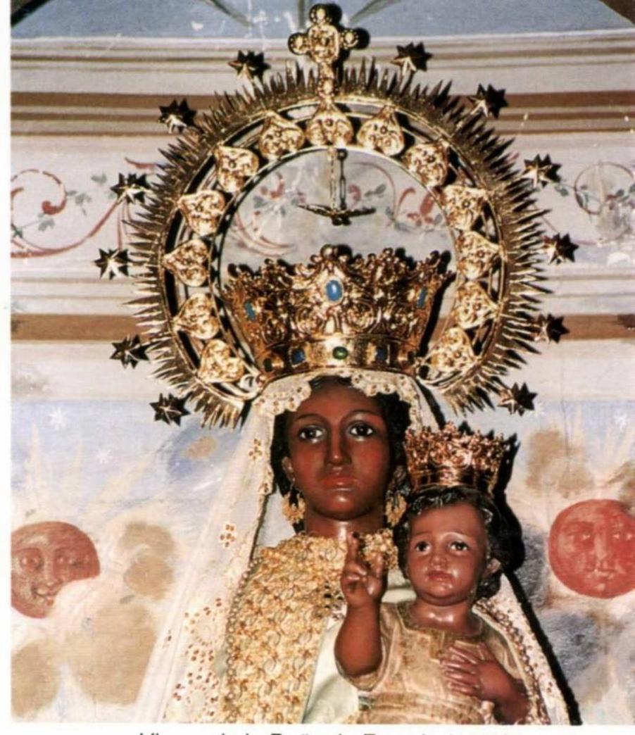 Virgen de Peña de Francia. Patrona de Salamanca y castilla Leon