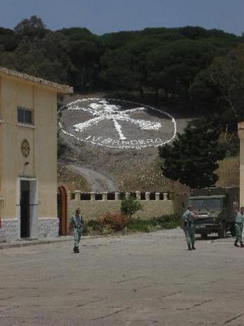 Centro militar, Ceuta