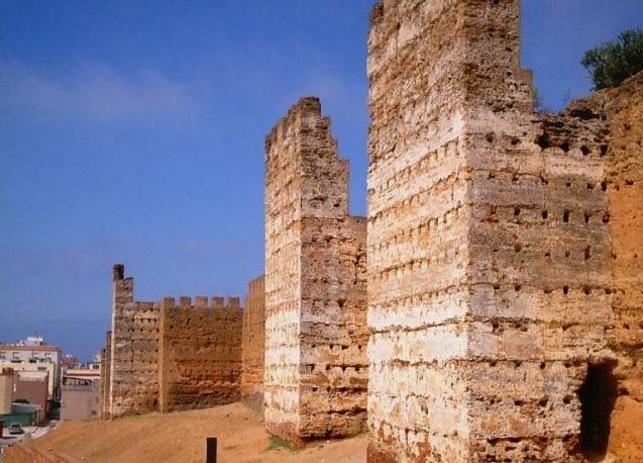 Murallas Meridinas en Ceuta