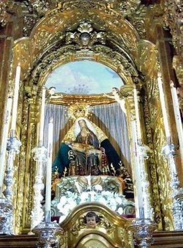 Atrio central de la Catedral de Ceuta