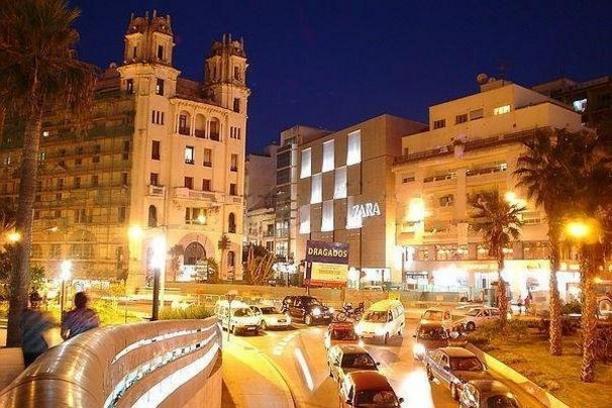 Zona comercial de Ceuta