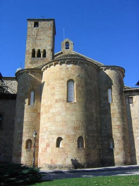Monasterio de Leyre, ábside de la iglesia