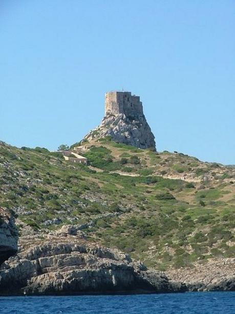 El atalaya de la Isla Cabrera, Islas Baleares