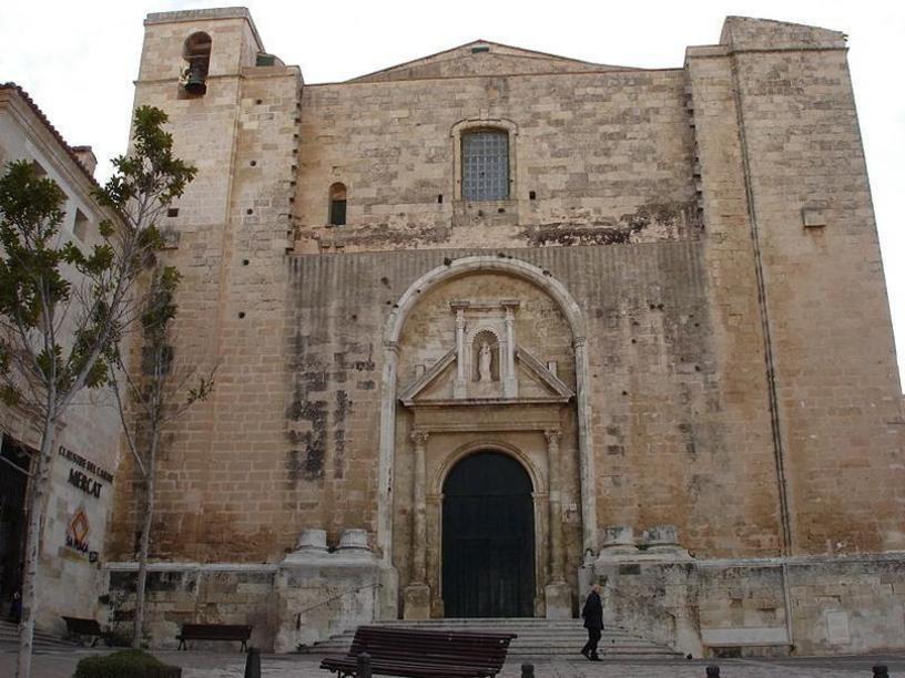 Iglesia del Carmen de Mahón, Menorca, islas Baleares
