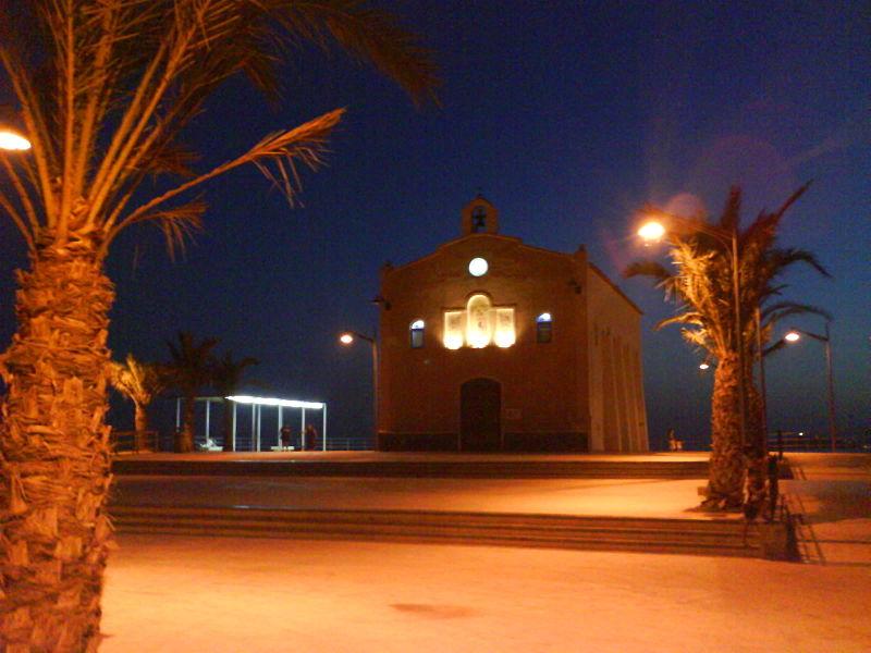 Isla Plana localidad costera de la Región de Murcia (España)