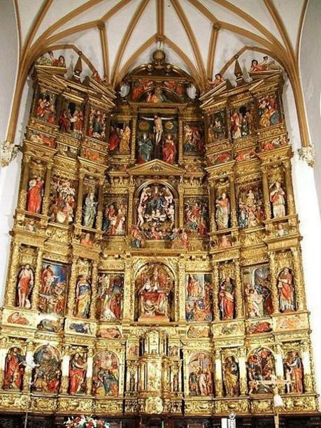 Iglesia de Santa María (Valtierra)- Retablo Mayor