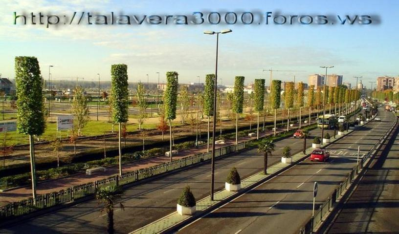 Antigua NV - entrada a Talavera de la Reina por Madrid