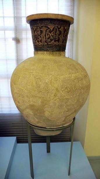 Tinaja árabe,Museo Arqueológico de Lorca