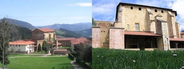 El monasterio de Santa María de Ziortza