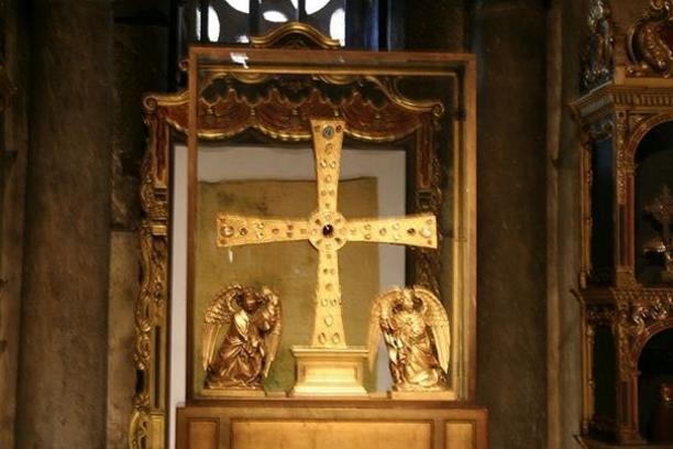 Cruz de los Ángeles, Asturias