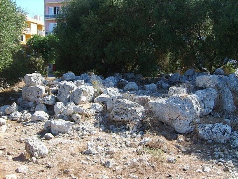 Piedras del Talayot de L ´illot, Mallorca, islas Baleares