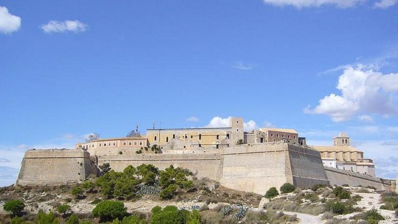 Sight of Dalt Vila, Ibiza, Balearic Islands