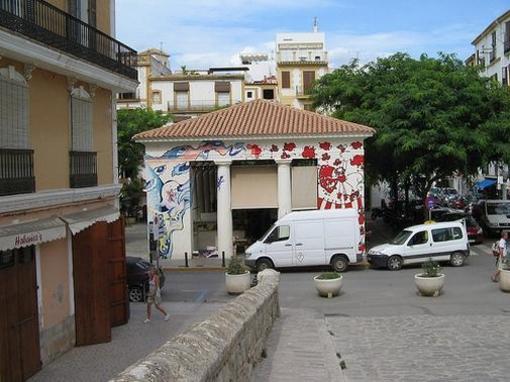Dalt Vila de dia, Ibiza, islas Baleares