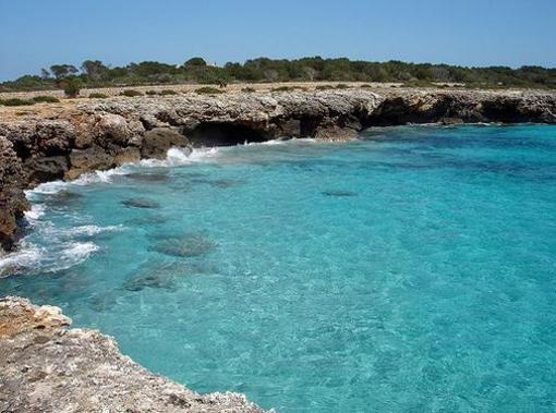 Cala Son Xoriguer, Menorca, islas Baleares