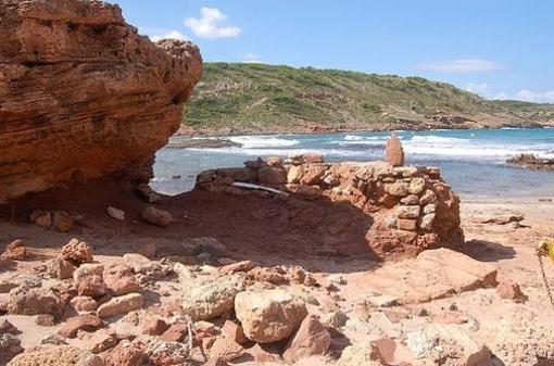 Cala Algaiarens, Menorca, islas Baleares