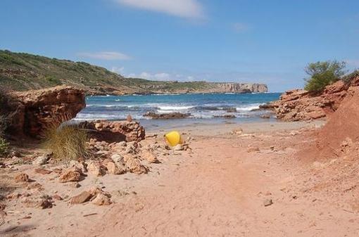 Playa de la Cala Algaiarens, Menorca, islas Baleares