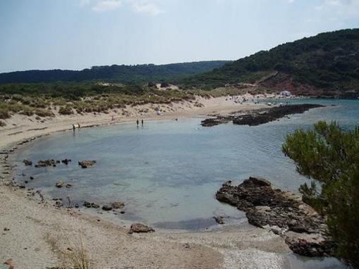 Playas vírgenes de la Vall, Menorca, islas Baleares