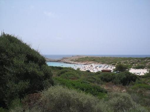 Playa de Son Bou,  menorca, islas Baleares