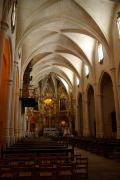 Interior of the Church Santa Maria