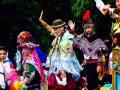 Desfile del día de América en Asturias