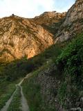 Vista de los senderos de Pedreguer, Marina Alta