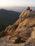 Lugar de paz en la cima de la Sierra Maigmo