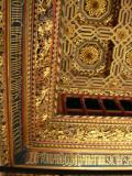 The Aljafería - Room of the throne - Roof - Detail