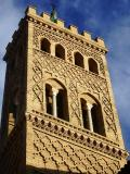 Mudejar tower of the church of San Gil (Saragossa,