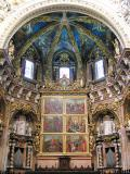 Major chapel of the cathedral of Valencia, with the musical angels of Paolo de San Leocadio and Fren