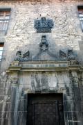 """Vista parcial de la fachada de """"Casa el Ministro"""" o """"Casa Sanz Orrio"""", casa señorial de la segunda m"""