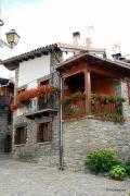 Flowery corner, Roncal, Navarre