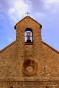 """Iglesia de Santiago o de los Peregrinos, pequeña iglesia gótica del siglo XIII, situada junto al """"Si"""