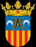 Municipal shield of Meliana