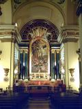 Interior of the Parochial Church of San Ginés, in Madrid