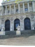 Front of the National library of Spain.