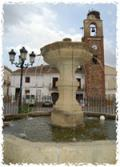 Fuente en la Plaza de Siruela.