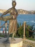 La Mujer Pescadora en Comillas