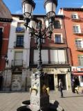 Farola cuatro brazos en Logroño