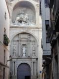 Fachada de Santiago El Real en Logroño