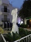 Escultura urbana en Mojacar