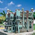 Una de las maquetas de Cataluña en miniatura en el poble de Torrelles de llobregat