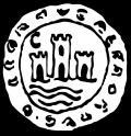 Cetil, dibujo de moneda de Ceuta