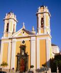 Fachada de la catedralde Ceuta