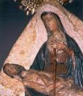 Detalle de la imagen de Nuestra Señora de Africa