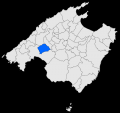 Location of Marratxí, Majorca, Balearic Islands