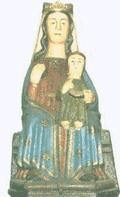 Virgen de la Franqueira. Patrona de la La Franqueira (Pontevedra) y de Galicia