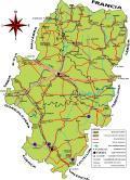 Mapa de Aragon