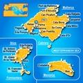 Mapa Islas Baleares