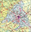 Map Community of Madrid
